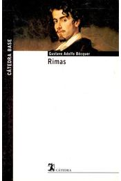 Rimas - BÉCQUER, GUSTAVO ADOLFO - Régikönyvek