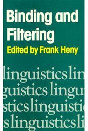 Binding and Filtering - Régikönyvek