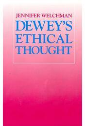 Dewey's Ethical Thought - Régikönyvek
