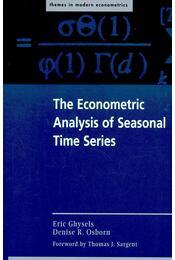 The Econometric Analysis of Seasonal Time Series - Régikönyvek