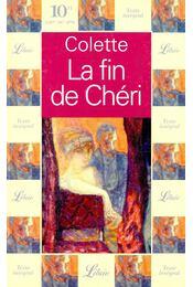 La fin de Chéri - Colette - Régikönyvek