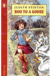 Boo To a Goose - STINTON, JUDITH - Régikönyvek