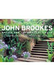 John Brookes - Garden and Landscape Designer - SIMMS, BARBARA - Régikönyvek