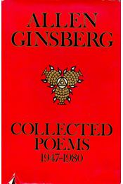 Collected Poems - Ginsberg, Allen - Régikönyvek