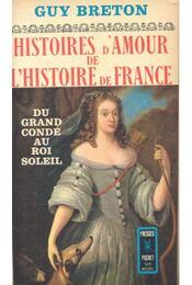 Histoires d'Amour de L'Histoire de France - Tome 4 - Du grand condé au Roi Soleil - Régikönyvek