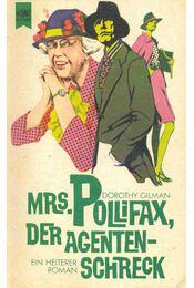 Mrs. Pollifax, der Agentenschreck (Eredeti cím: The Elusive Mrs. Pollifax) - GILMAN, DOROTHY - Régikönyvek