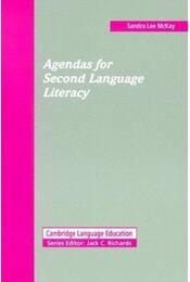 Agendas for Second Language Literacy - Régikönyvek