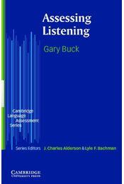 Assessing Listening - Régikönyvek