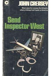 Send Inspector West - Creasey, John - Régikönyvek