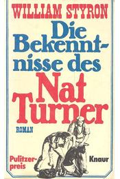Die Bekenntnisse des Nat Turner - William Styron - Régikönyvek
