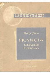Francia Társalgási zsebkönyv - Régikönyvek