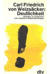 Deutlichkeit - Beiträge zu politischen und religiösen Gegenwartsfragen - Régikönyvek