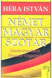 Német-magyar szótár - Régikönyvek