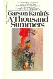 A Thousand Summers - Régikönyvek