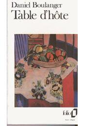 Table d´hôte - Régikönyvek