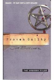 Proven Guilty - Régikönyvek