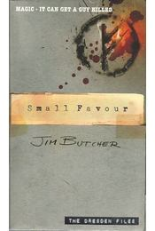 Small Favour - Jim Butcher - Régikönyvek
