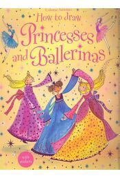 How to Draw Princesses and Ballerinas - Régikönyvek