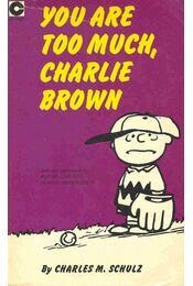 You're Too Much, Charlie Brown - Régikönyvek