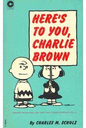 Here's To You Charlie Brown - Régikönyvek