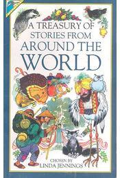 A Treasury of Stories from Around the World - Linda Jennings - Régikönyvek