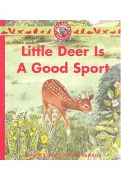 Little Deer Is a Good Sport - Albee, Sarah - Régikönyvek