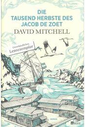 Die tausend Herbste des Jacob de Zoet - Régikönyvek