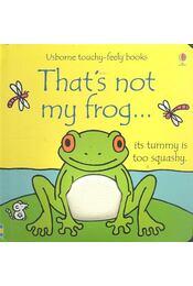 That's Not My Frog... - Régikönyvek