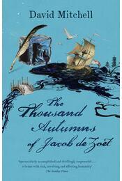 The Thousand Autumns of Jacob de Zoet - David Mitchell - Régikönyvek