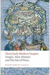 Three Early Modern Utopias - Régikönyvek