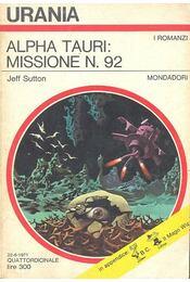 Alpha tauri: missione N. 92 - Régikönyvek