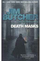 Death Masks - Jim Butcher - Régikönyvek