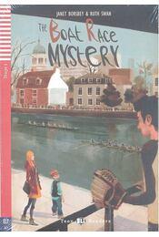 The Boat Race Mystery - Stage 1 (+CD) - Régikönyvek