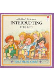 A Children's Book About Interrupting - Régikönyvek