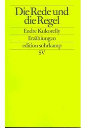 Die Rede und die Regel - Régikönyvek