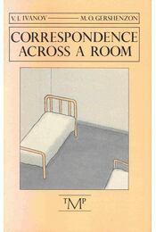 Correspondence Across a Room - Régikönyvek