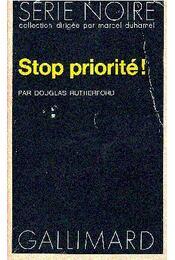 Stop, priorité ! - Régikönyvek