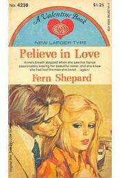 Believe in Love - Régikönyvek