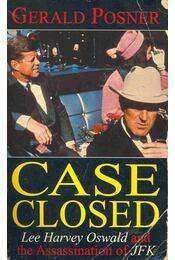 Case Closed - Lee Harvey Oswald and the Assassination of JFK - Régikönyvek