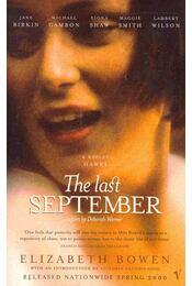 The Last September - Bowen, Elizabeth - Régikönyvek