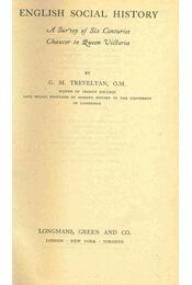 English Social History - Régikönyvek