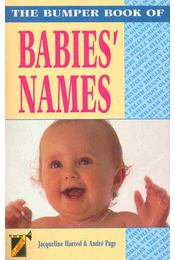 The Bumper Book of Babies' Names - Régikönyvek