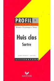 Huis clos – Sartre - Régikönyvek