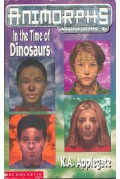 Animorphs – In the Time of Dinosaurs - Régikönyvek