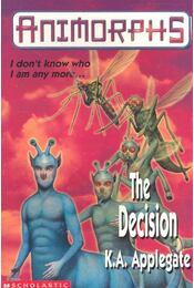 The Decision (Animorphs) - Régikönyvek