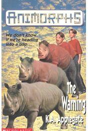 The Warning (Animorphs) - Régikönyvek