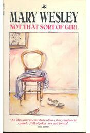 Not That Sort of Girl - Régikönyvek