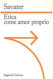 Etica come amor proprio - Régikönyvek