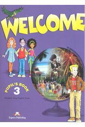 Welcome 3 – Pupil's Book - Régikönyvek