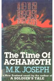 The Time of Achamoth - Régikönyvek